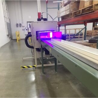 Conveyorized Ultraviolet LED Curing Application