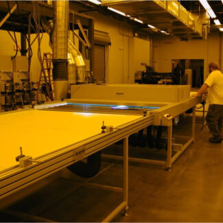 Production Bottom Cure Sheet Conveyor